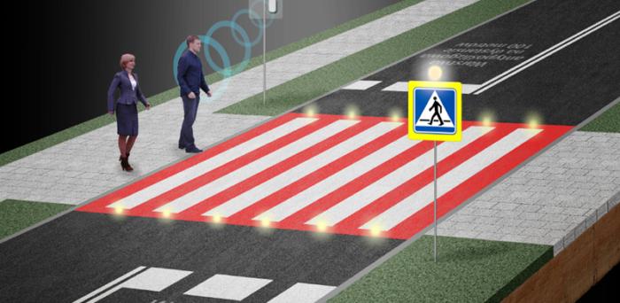 Interaktywne przejścia dla pieszych