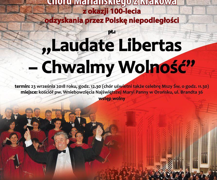 Zapraszamy na koncert Chóru Mariańskiego