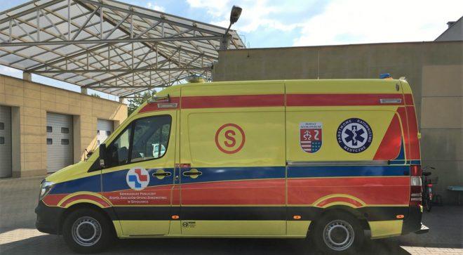 Nowy ambulans w Szydłowcu