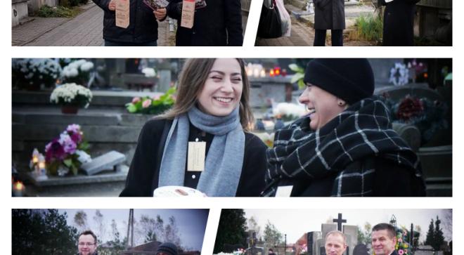 Kwesta na szydłowieckim cmentarzu
