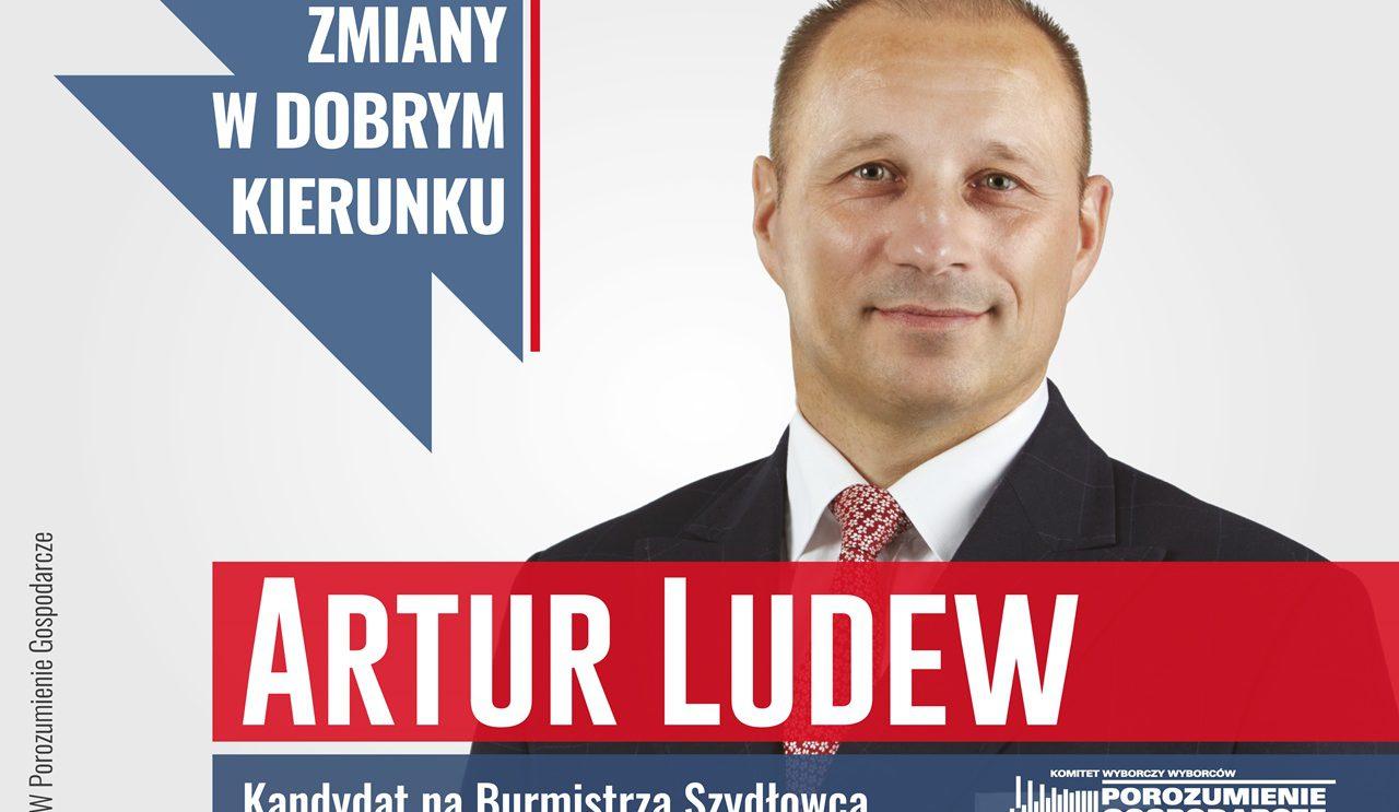Artur Ludew – Kandydat na Burmistrza Szydłowca