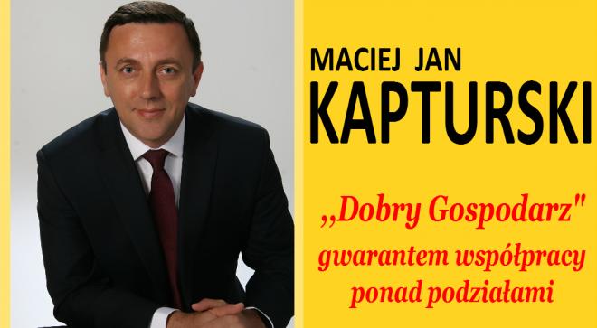 Maciej Jan Kapturski – kandydat na Burmistrza Szydłowca