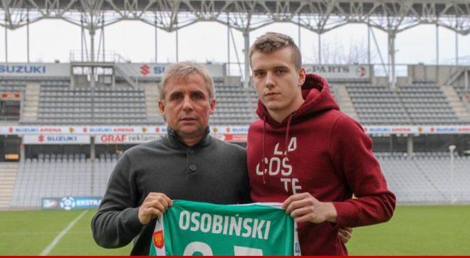 Jakub Osobiński z profesjonalnym kontraktem w Koronie Kielce