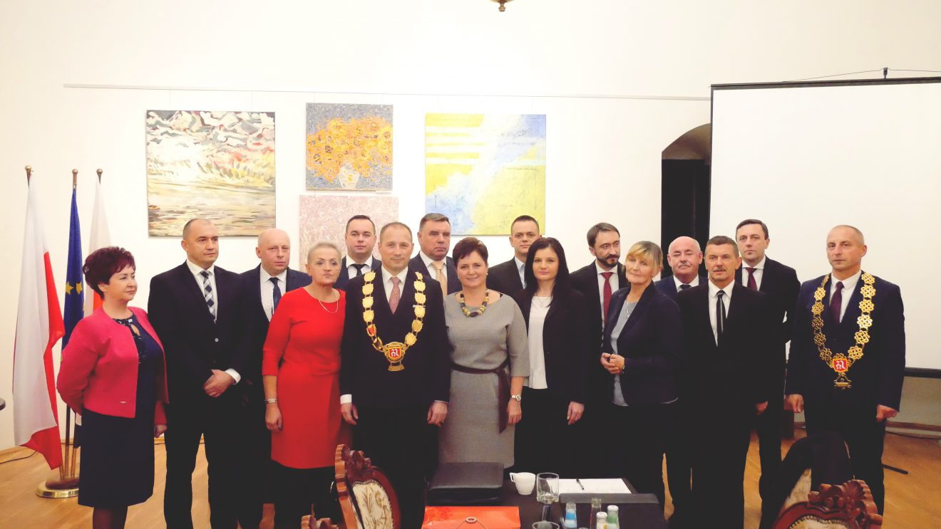 Sesja Rady Miejskiej. Zaprzysiężenie burmistrza, wybór prezydium i komisji stałych.