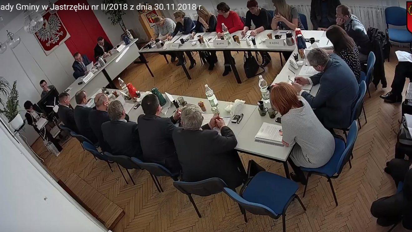 Transmisja obrad Rady Gminy w Jastrzębiu