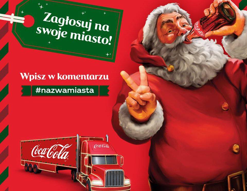Ciężarówka Coca – Coli w Szydłowcu?