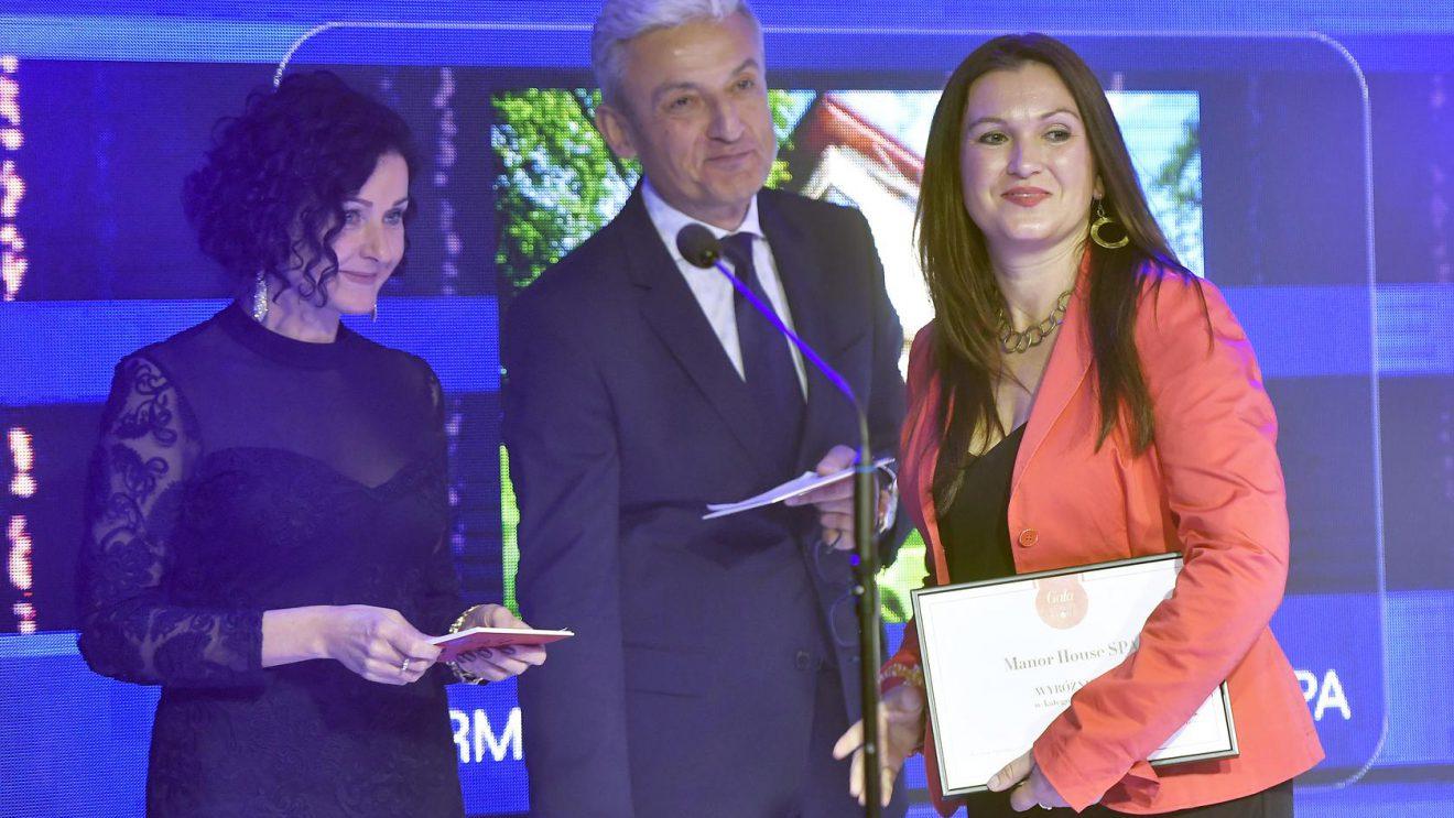 Manor House SPA wśród najlepszych hoteli SPA w konkursie Gala Beauty Stars 2018