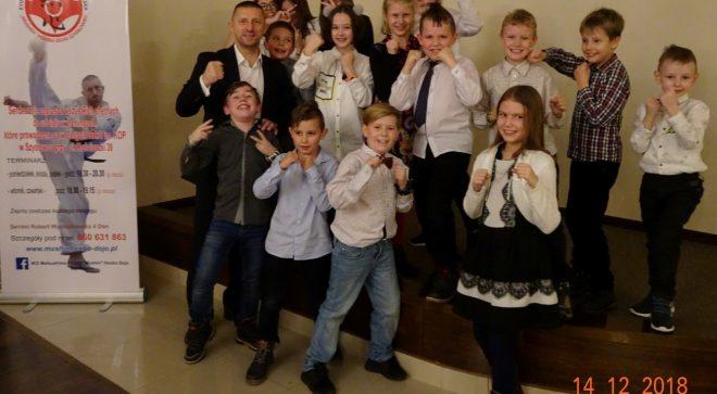 Wigilijne spotkanie Kyokushin Karate Matsushima Polska