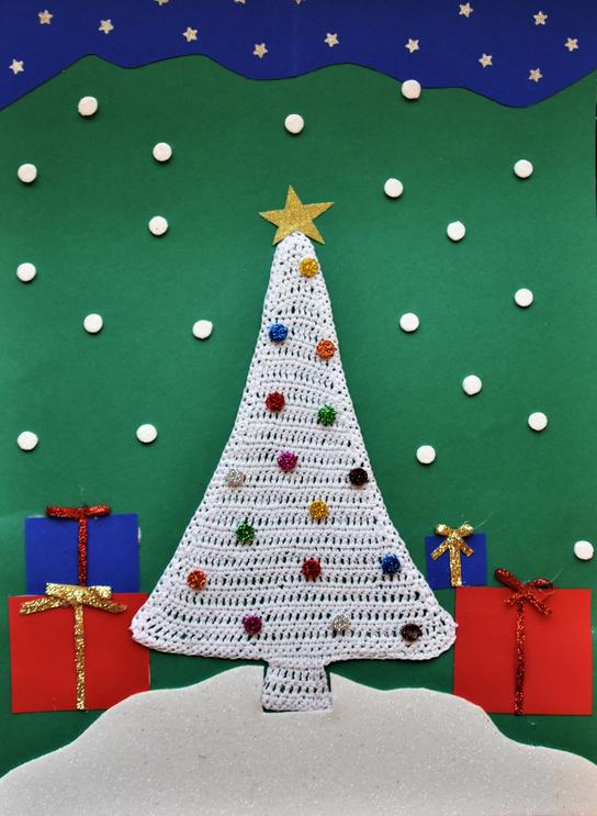 Praca Natalii z Łazisk oficjalną kartką świąteczną Wojewody