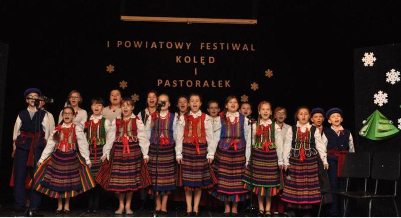 Odbył się pierwszy powiatowy festiwal kolęd i pastorałek