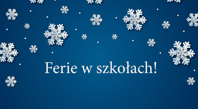 Ferie w szkołach gminy Szydłowiec