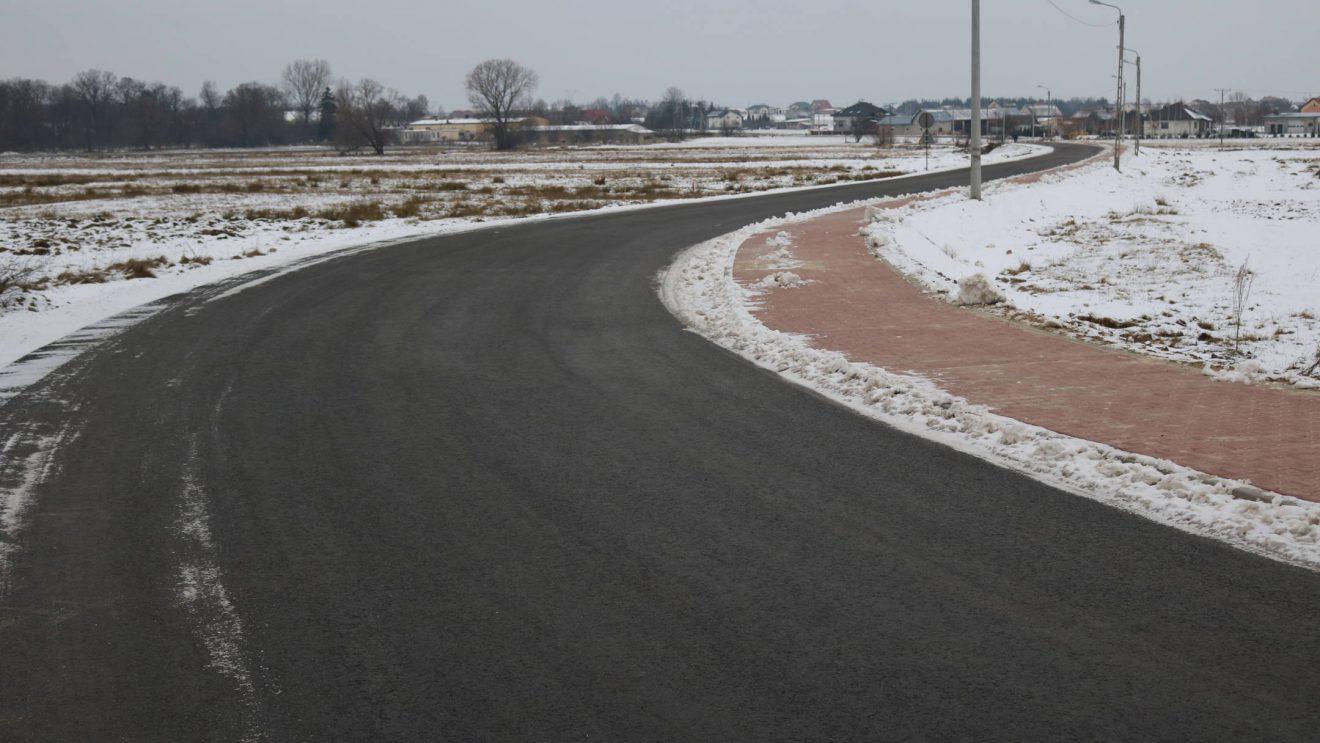 Odbudowa drogi gminnej w Mirowie Starym