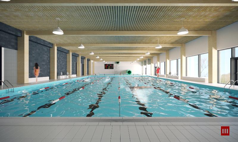 Powiat pokazuje jak będzie wyglądał basen w Szydłowcu