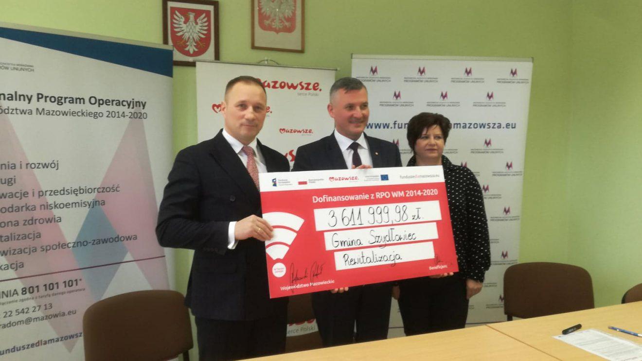 Szydłowiec otrzyma ponad 3,6 miliona złotych!