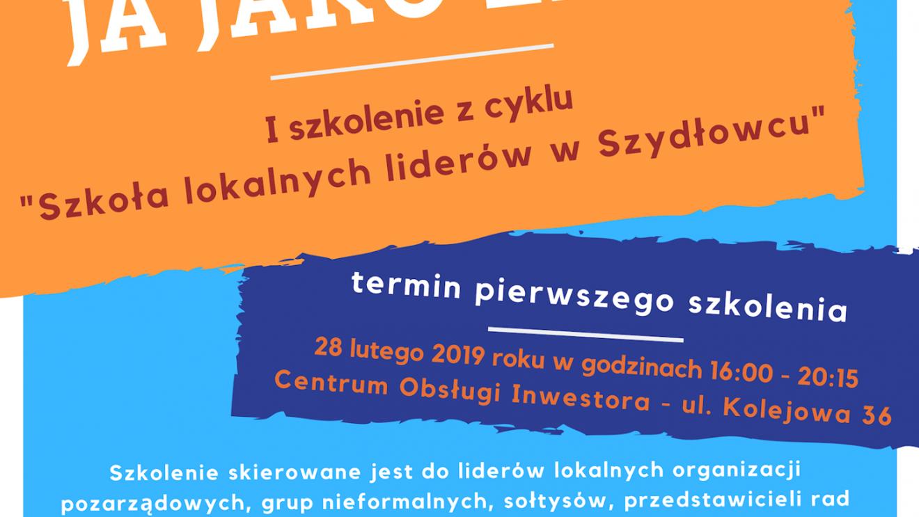 Burmistrz Szydłowca zaprasza lokalnych liderów