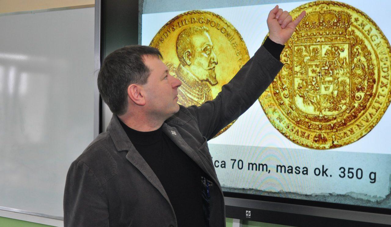Spotkanie z numizmatykiem