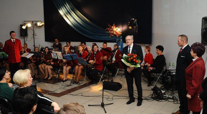 Henryk Kapturski oficjalnie zakończył swoją działalność w Miejskiej Orkiestrze Dętej