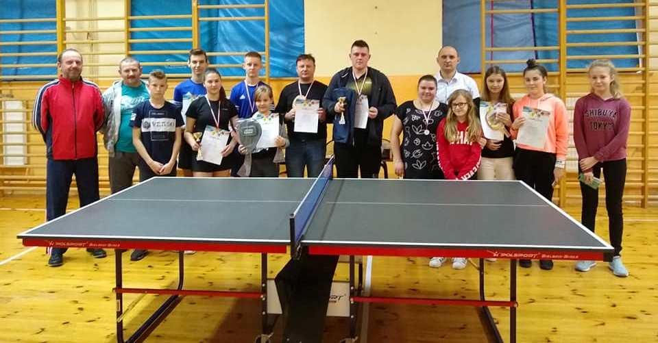 XV Otwarte Mistrzostwa Sadku w tenisie stołowym