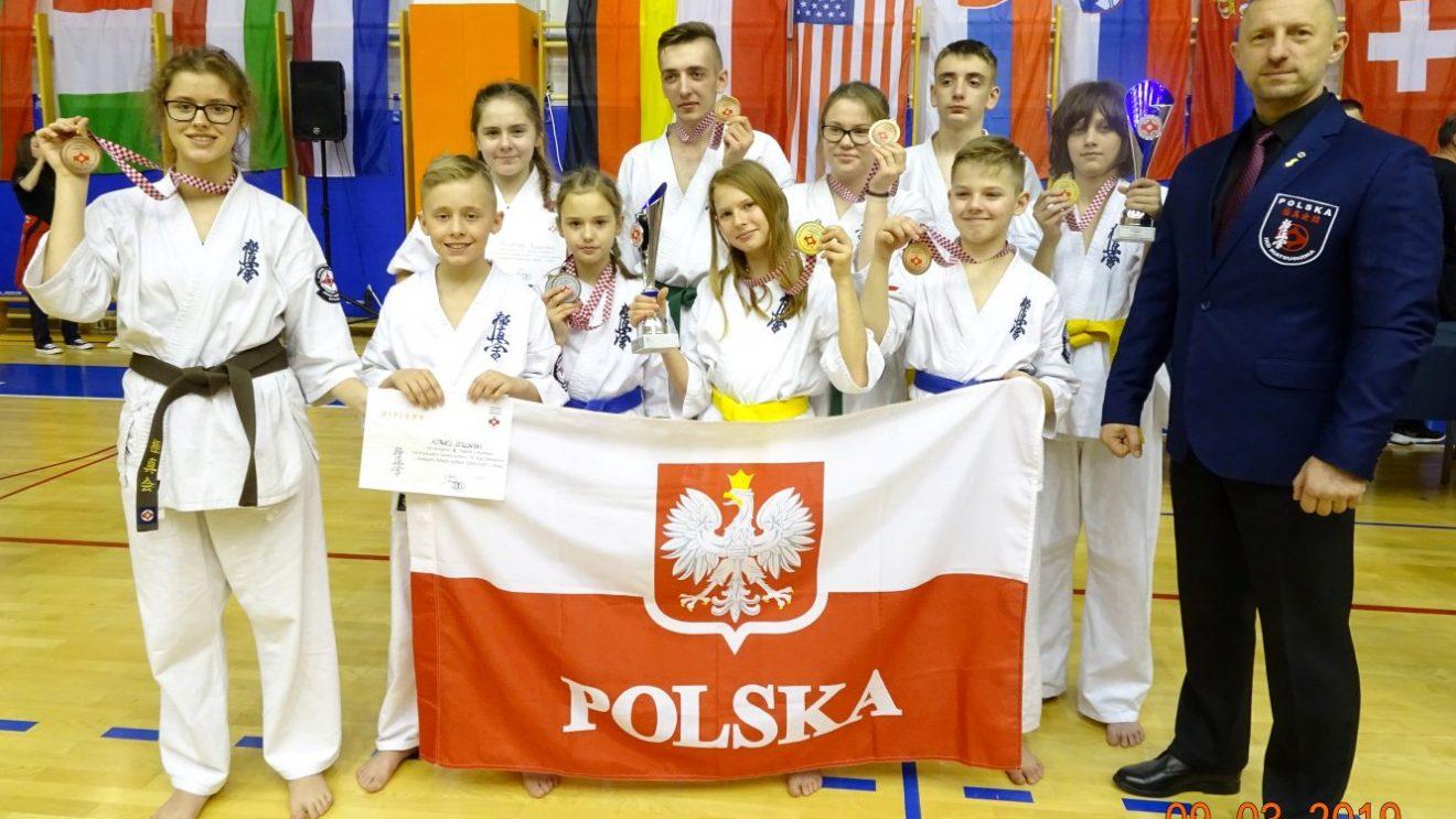 Sukcesy karateków w Chorwacji!