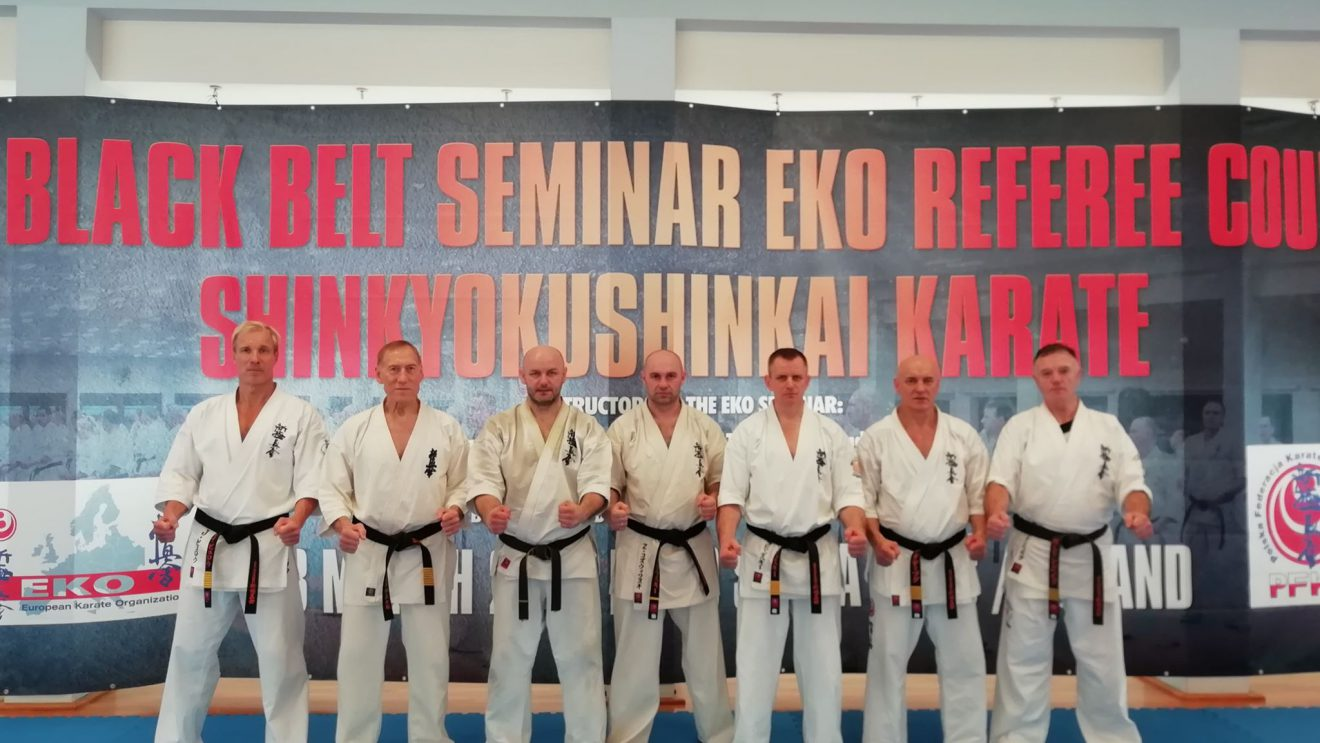 Trenerzy Akademii Karate Szydłowiec szkolili się w Japońskim Centrum Sztuk Walki