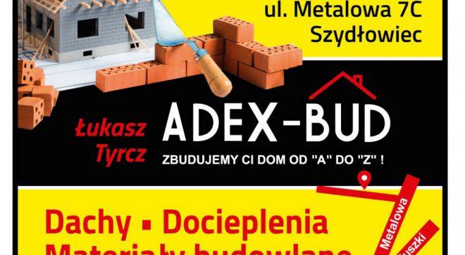 """ADEX-BUD – zbudujemy Ci dom od """"A"""" do """"Z"""""""