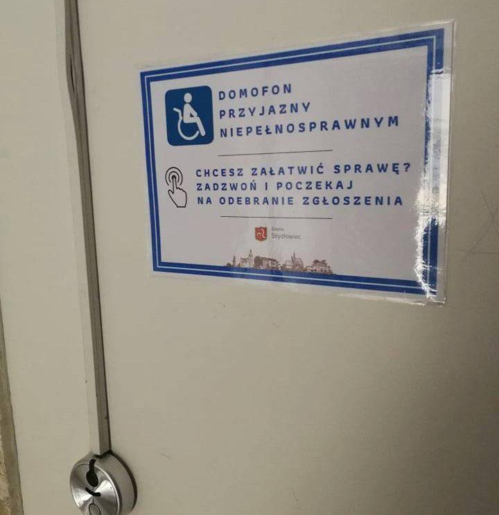Domofon dla niepełnosprawnych