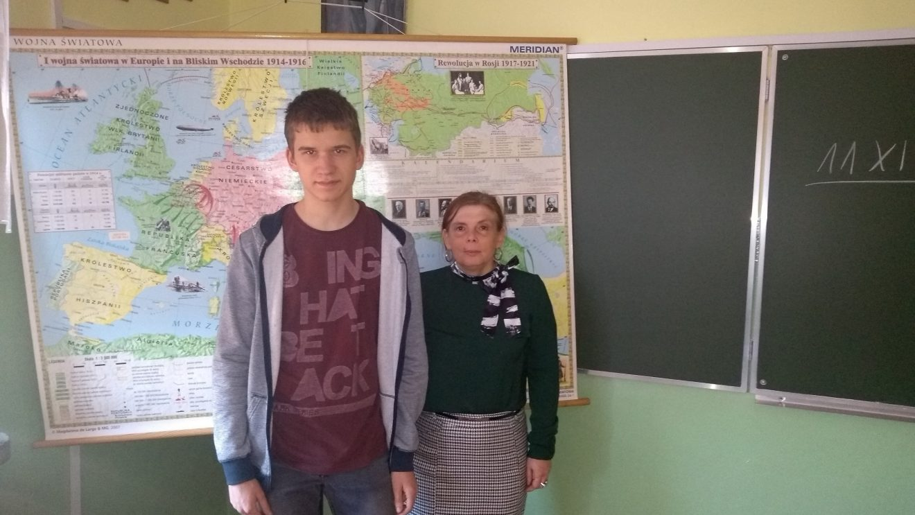 Kamil Łyczek finalistą konkursu historycznego