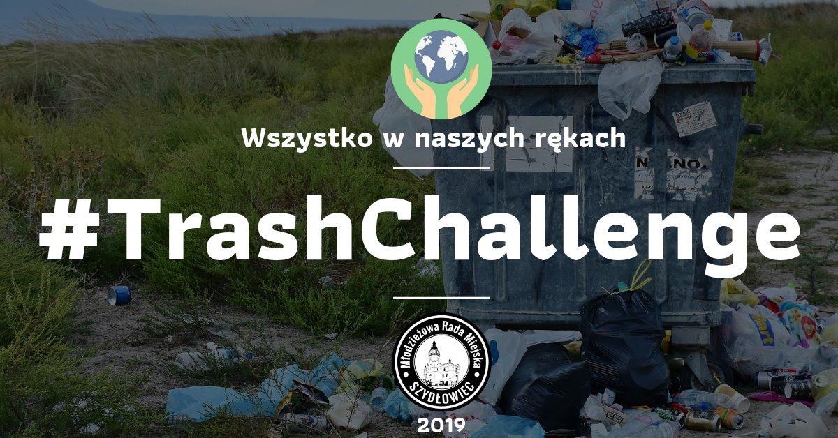 Młodzieżowa Rada Miejska zaprasza do #TrashChallenge