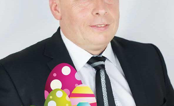Radny Rady Miejskiej Marek Cegliński składa życzenia Wielkanocne