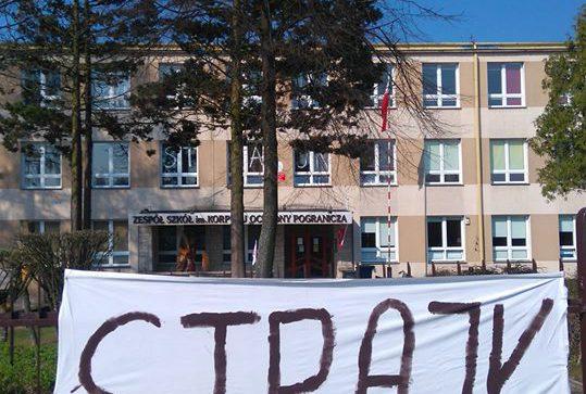 Strajk nauczycieli w szydłowieckich placówkach