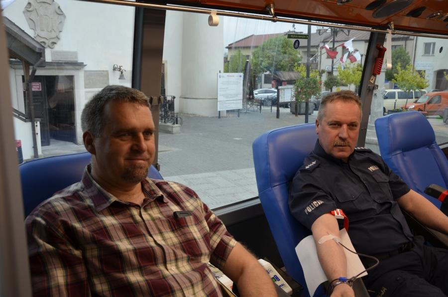 100 litrów krwi na 100 – lecie policji