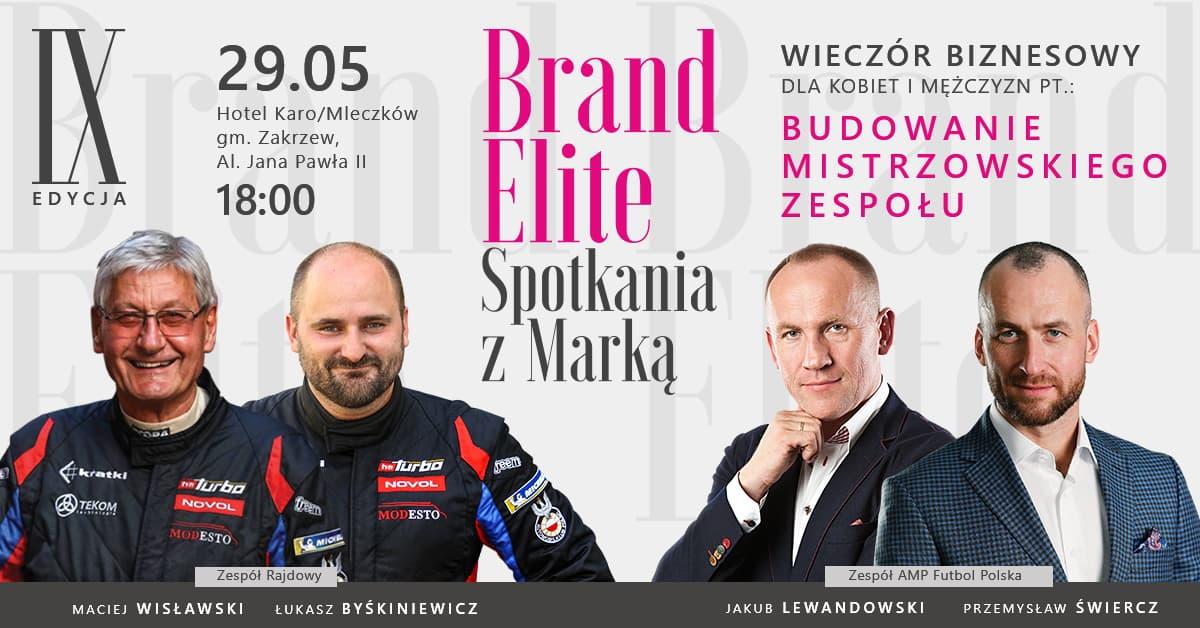 Zapraszamy na Brand Elite. Spotkania z Marką