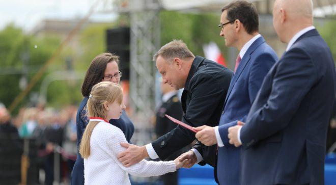 Gabrysia Szeliga nagrodzona przez prezydenta!
