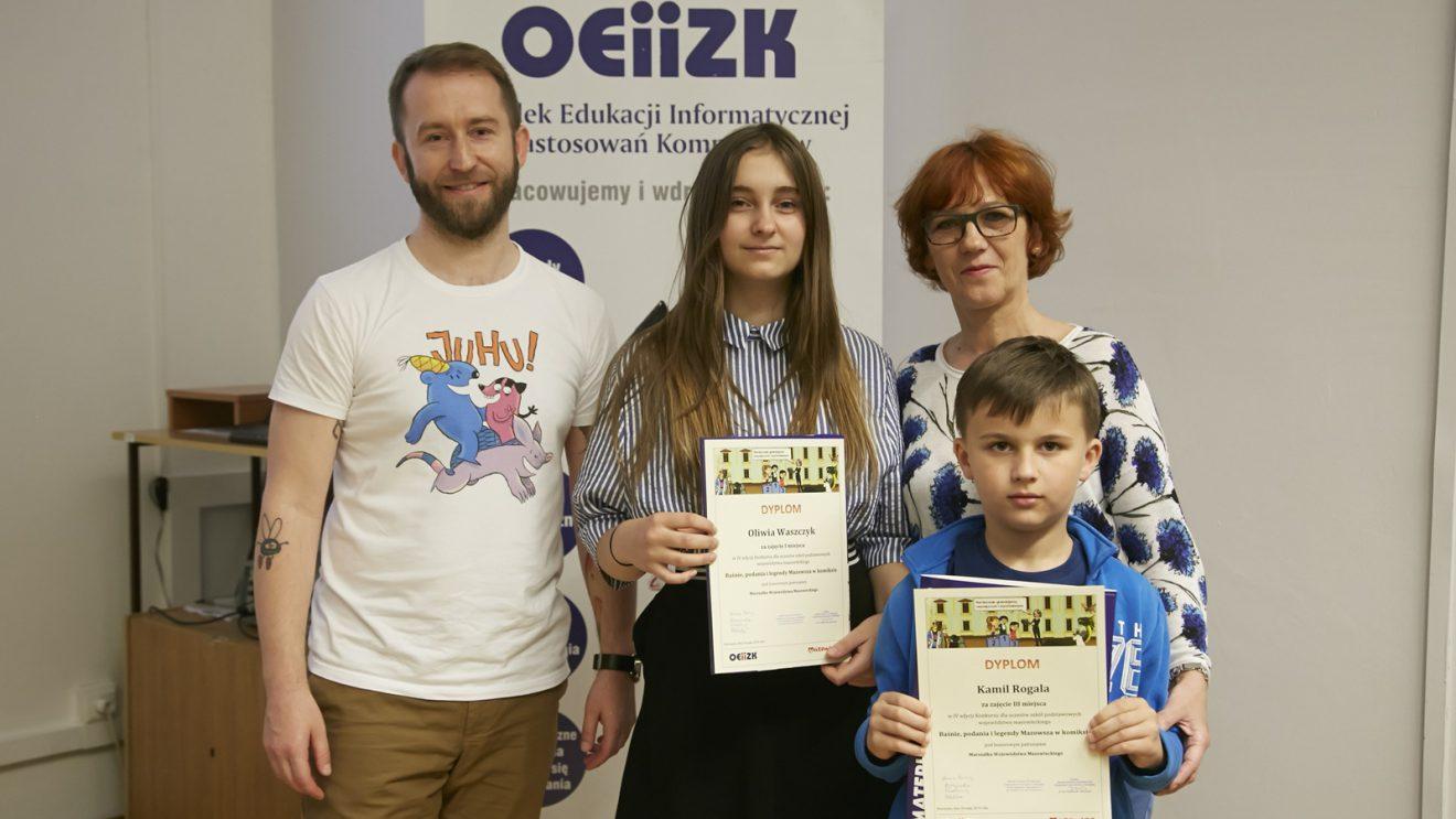 Sukcesy reprezentantów Szydłowca w konkursie informatycznym
