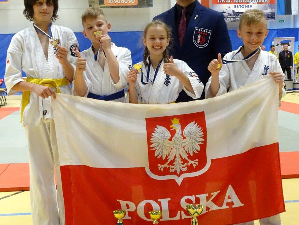 Turniej karate w Estonii