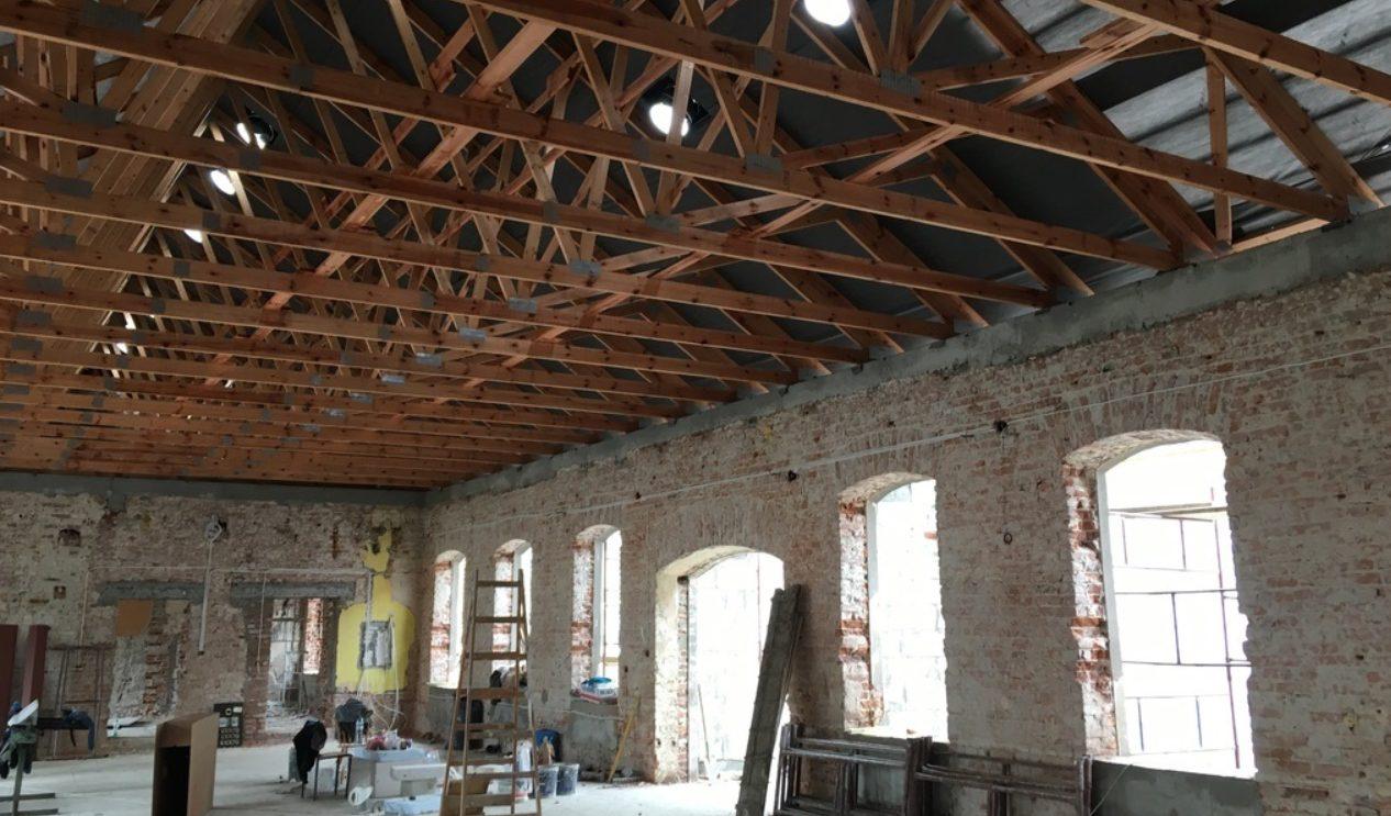 Remont budynku starej powozowni