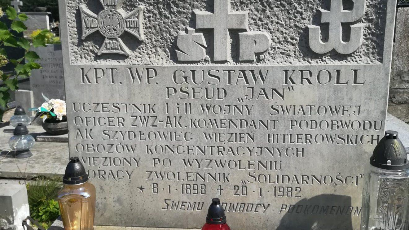 """Wspomnienie kapitana Gustawa Krolla ps. """"Jan"""""""