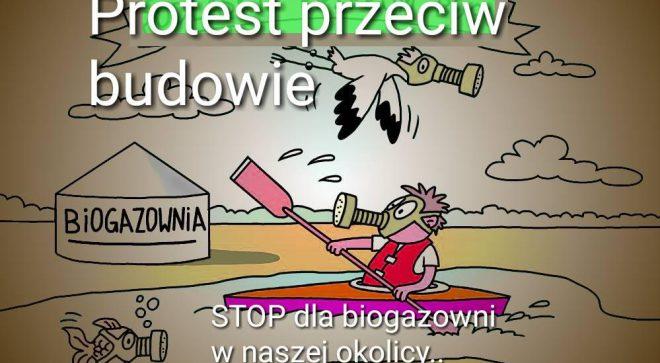Mieszkańcy gminy Orońsko protestują. Wójt wydaje komunikat. Temat? Biogazownia.