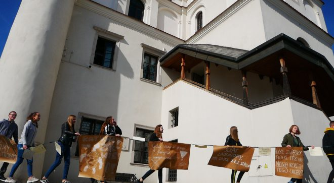 Protest Tysięcy Miast, również w Szydłowcu