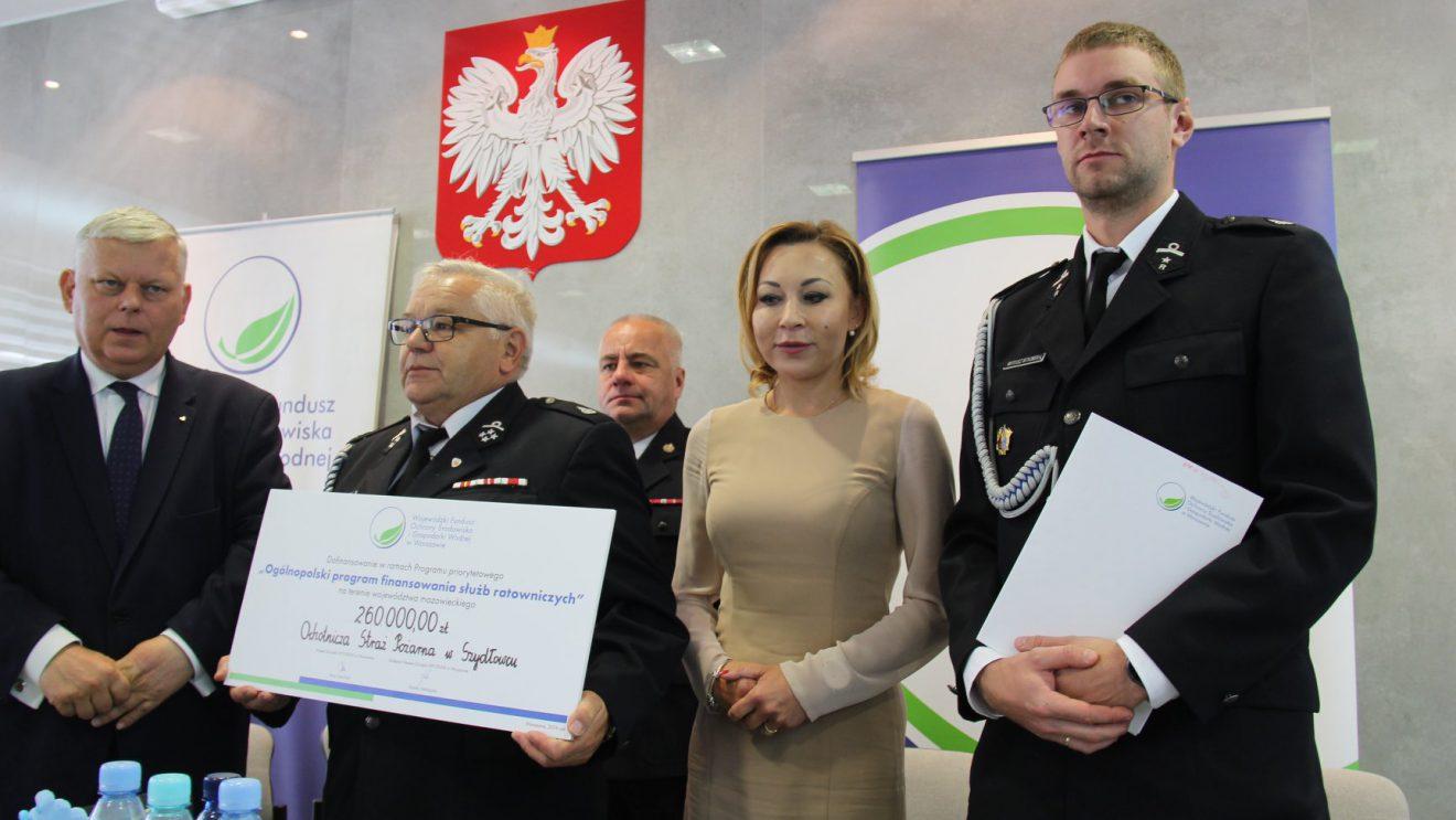 OSP z terenu powiatu szydłowieckiego z dofinansowaniami