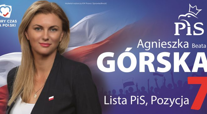 Agnieszka Górska – kandydatka do Sejmu RP