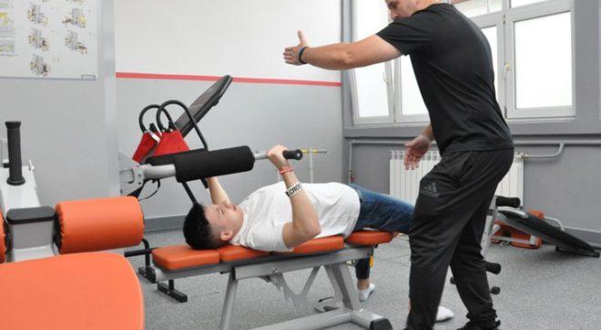 Sala sportowo – rehabilitacyjna w CKZiU