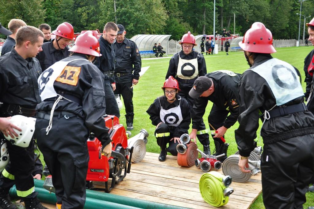 Strażacy ochotnicy rywalizowali w zawodach