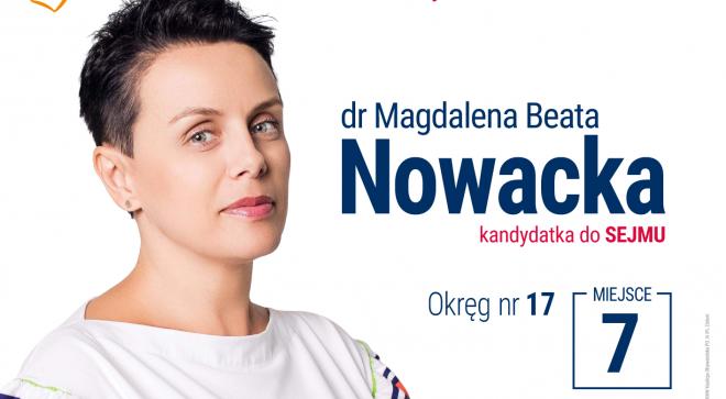 Magdalena Nowacka – kandydatka do Sejmu RP