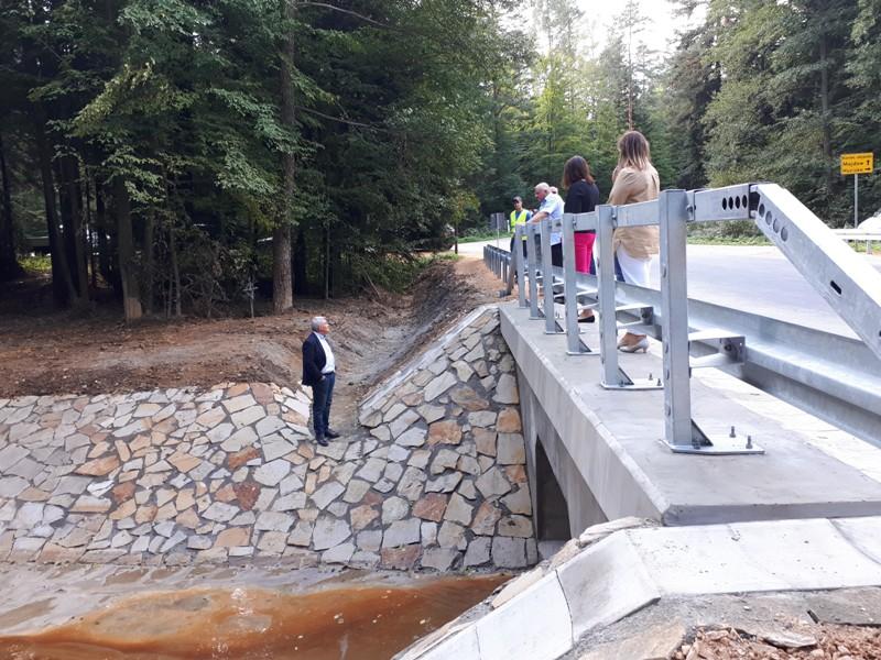Zakończono prace nad przebudową mostu w ciągu drogi powiatowej Szydłowiec – Majdów