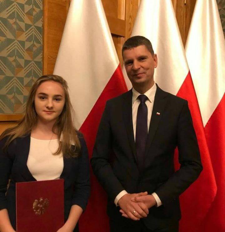 Wiktoria Nowocień w Radzie Dzieci i Młodzieży Rzeczypospolitej Polskiej