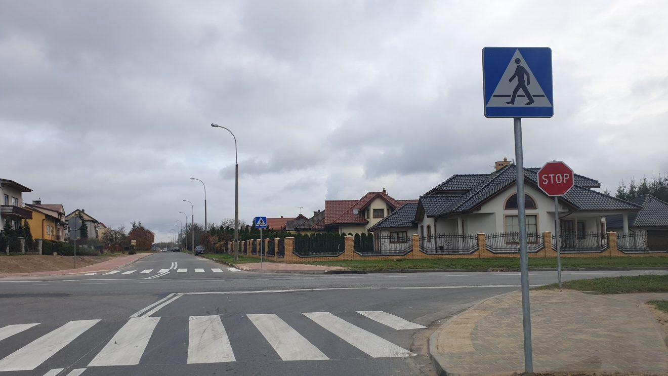 Poprawa bezpieczeństwa na skrzyżowaniu ulic Hubala i Kościuszki
