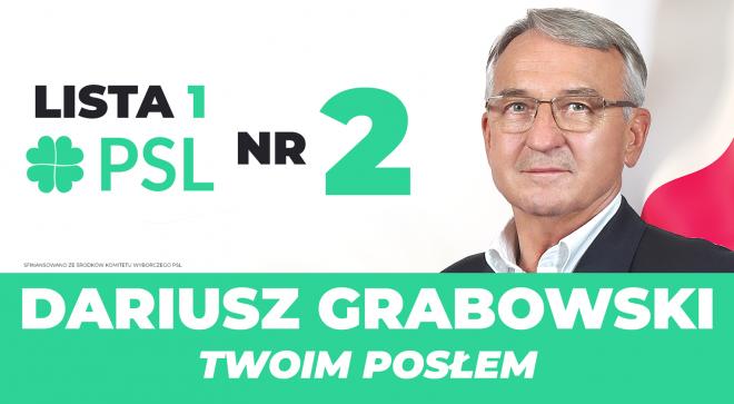 Dariusz Grabowski – kandydat do Sejmu RP
