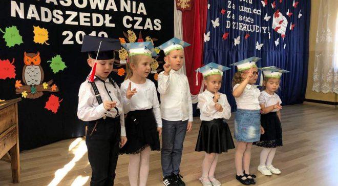 Dzień nauczyciela w szkole w Pawłowie