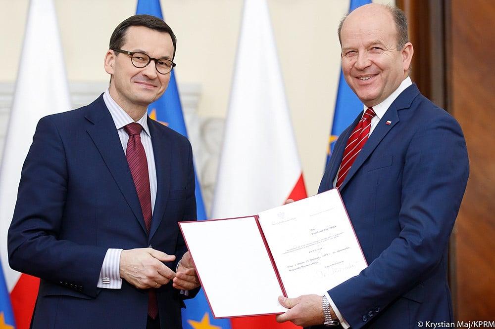 Premier Morawiecki powołał nowego wojewodę mazowieckiego